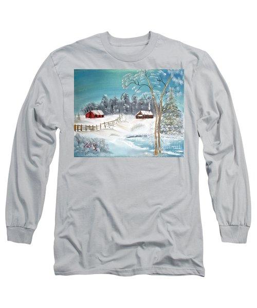 Winter Farm Long Sleeve T-Shirt