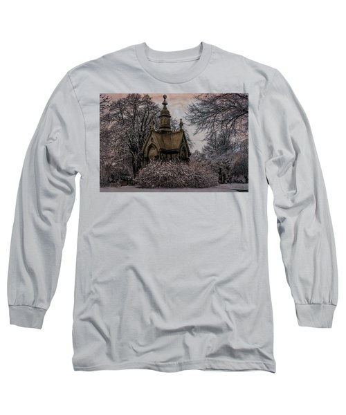 Long Sleeve T-Shirt featuring the digital art Winter Gothik by Chris Lord