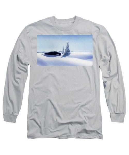 Winter In Austria Long Sleeve T-Shirt