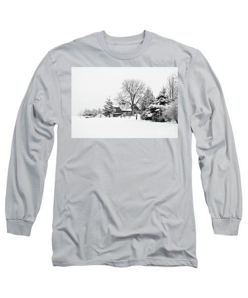 Winter In Black And White Fleckl, Germany 2 Long Sleeve T-Shirt