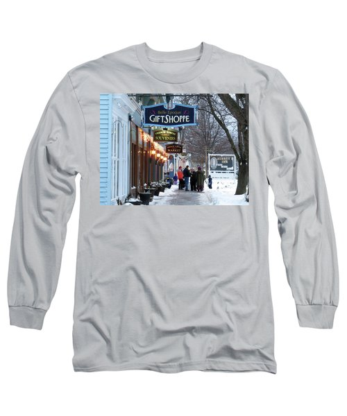 Winter In Cape Vincent Long Sleeve T-Shirt