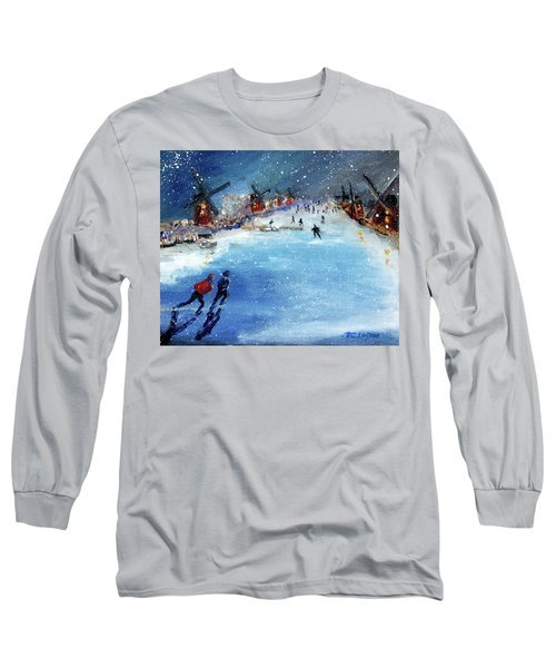 Winter In The Netherlands Long Sleeve T-Shirt