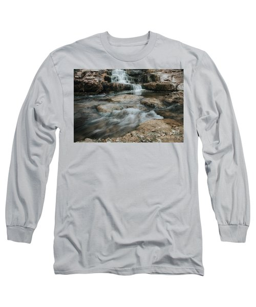 Winter Inthe Falls Long Sleeve T-Shirt by Iris Greenwell