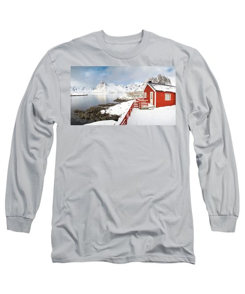 Winter Morning Long Sleeve T-Shirt by Alex Conu