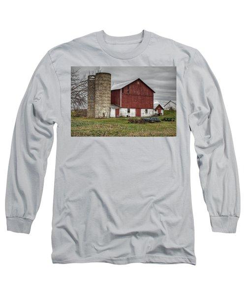 0006 - Winter Red Long Sleeve T-Shirt