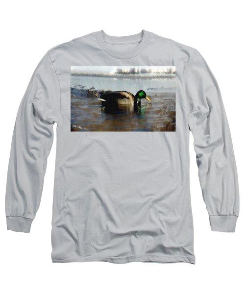 Winter Snacking Long Sleeve T-Shirt