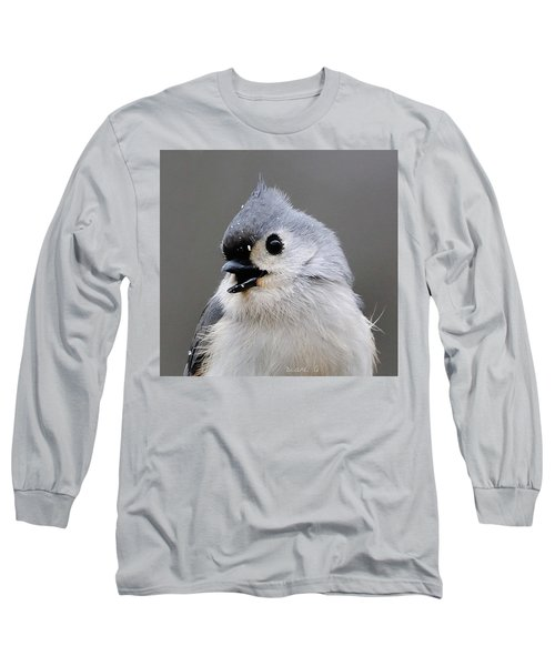 Winter Titmouse Long Sleeve T-Shirt