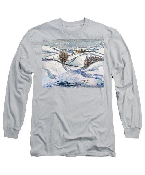 Winter Tranquility Long Sleeve T-Shirt