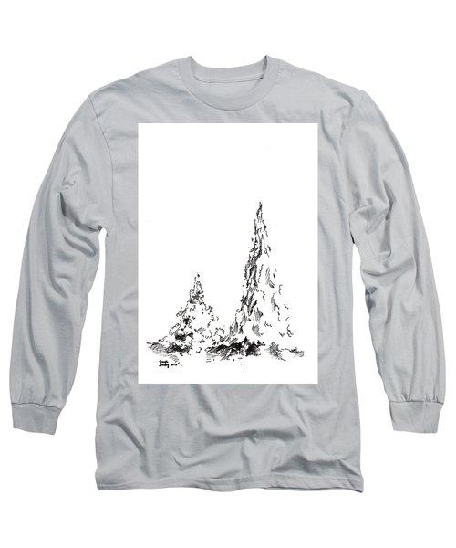 Winter Trees 2 - 2016 Long Sleeve T-Shirt