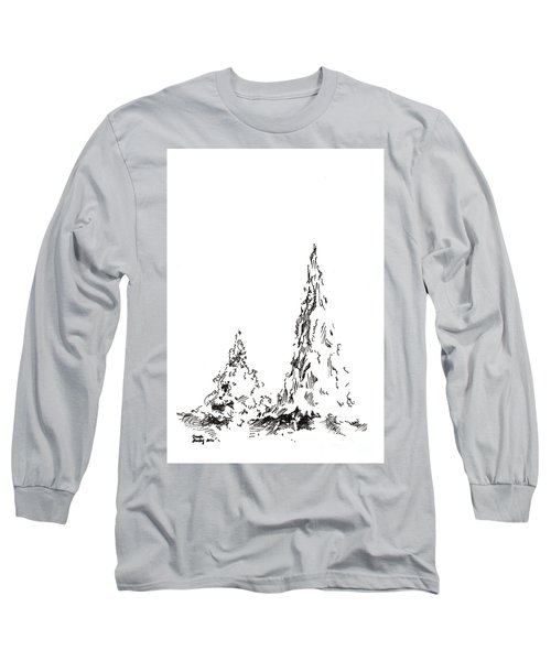 Winter Trees 2 - 2016 Long Sleeve T-Shirt