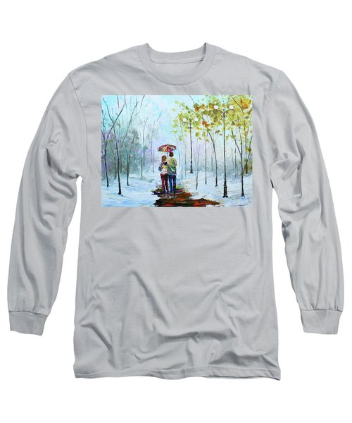 Winter Walk Long Sleeve T-Shirt