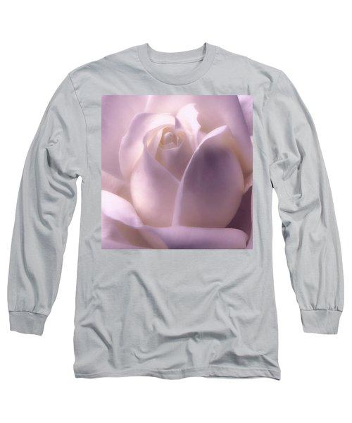 Winter White Rose 2 Long Sleeve T-Shirt