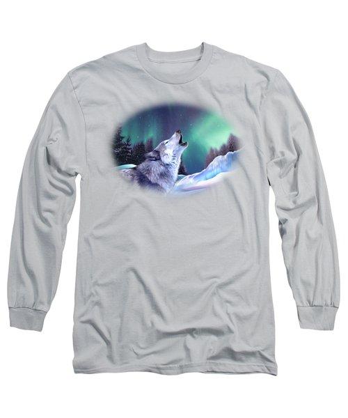 Winter Wolf Long Sleeve T-Shirt