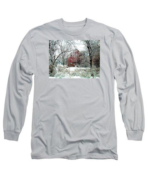 Winter Wonderland Long Sleeve T-Shirt by Julie Hamilton