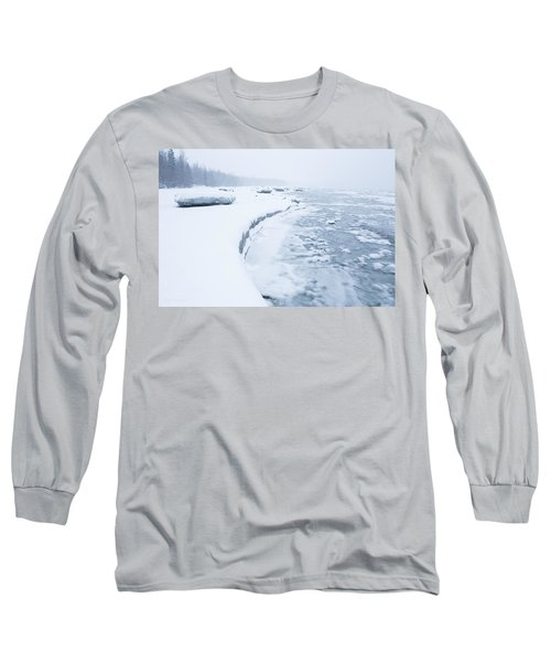 Wintry Coast Long Sleeve T-Shirt