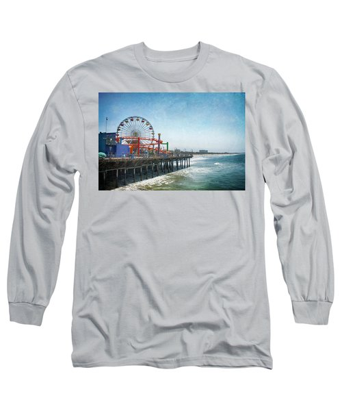 With A Smile On My Face Long Sleeve T-Shirt