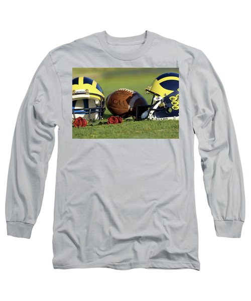 Wolverine Helmets And Roses Long Sleeve T-Shirt
