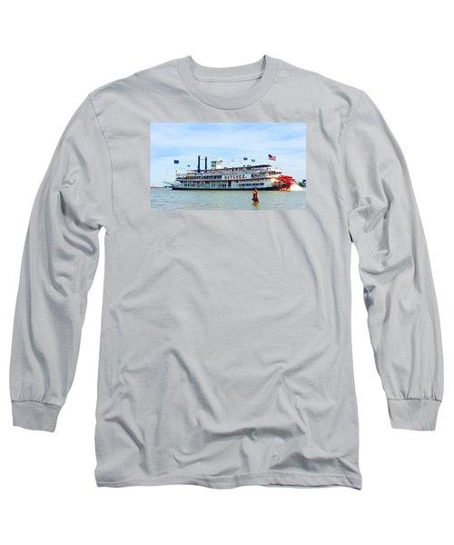 Woman Meets Natchez Long Sleeve T-Shirt