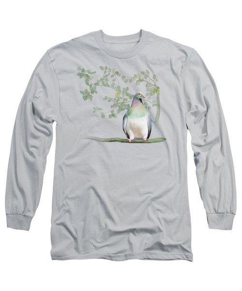 Wood Pigeon Long Sleeve T-Shirt