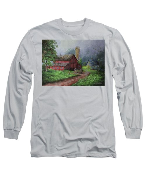 Wooden Cart Long Sleeve T-Shirt