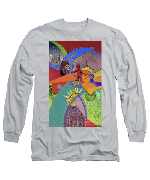 World View Long Sleeve T-Shirt by Carol Jacobs