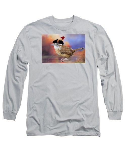 Wrenaissance Man Long Sleeve T-Shirt by Bonnie Barry