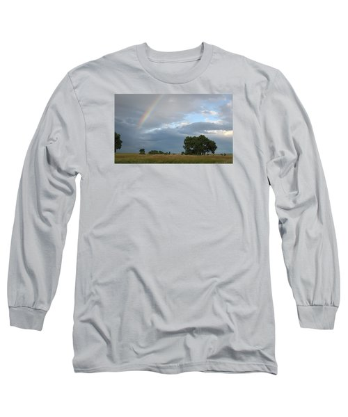 Wyoming Rainbow Long Sleeve T-Shirt