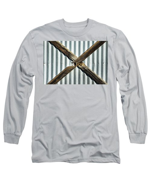 Long Sleeve T-Shirt featuring the photograph X Marks The Spot by Karol Livote