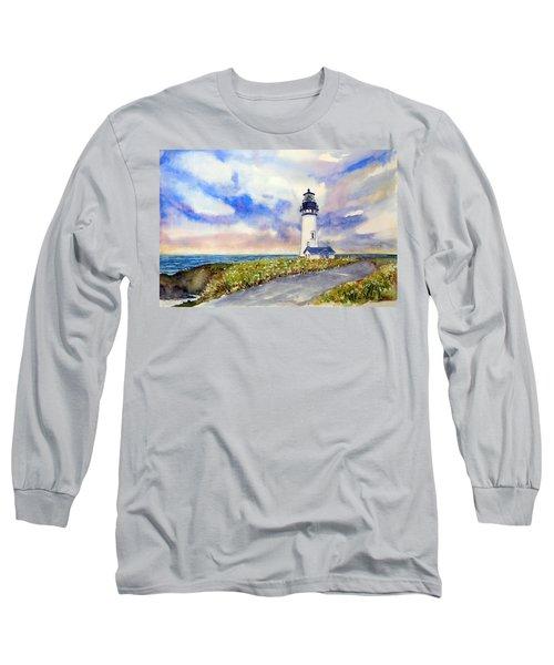 Yaquina Head Lighthouse - Springtime Long Sleeve T-Shirt