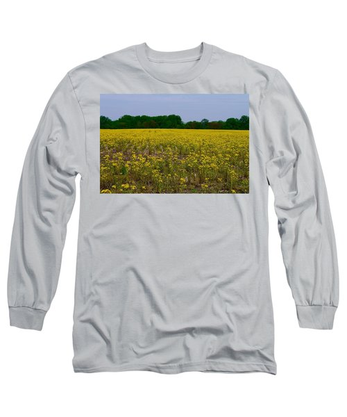 Yellow Field Long Sleeve T-Shirt
