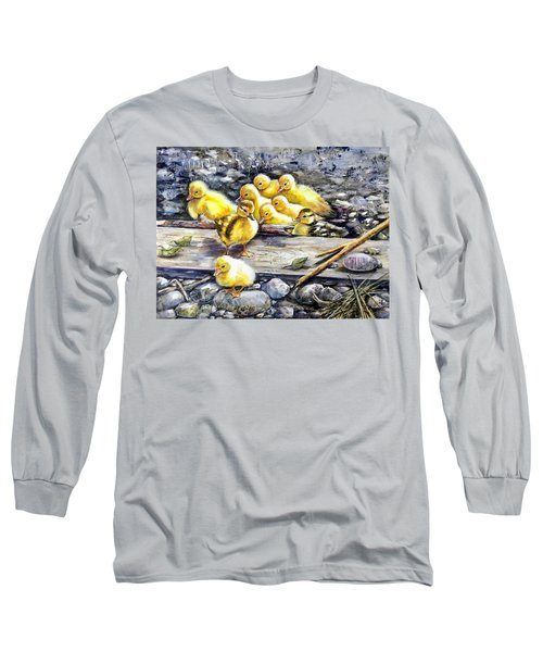 Yellow Happiness Long Sleeve T-Shirt