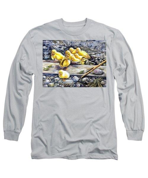 Yellow Happiness Long Sleeve T-Shirt