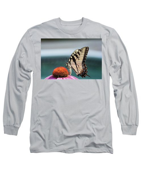 Yellow Swallowtail II Long Sleeve T-Shirt
