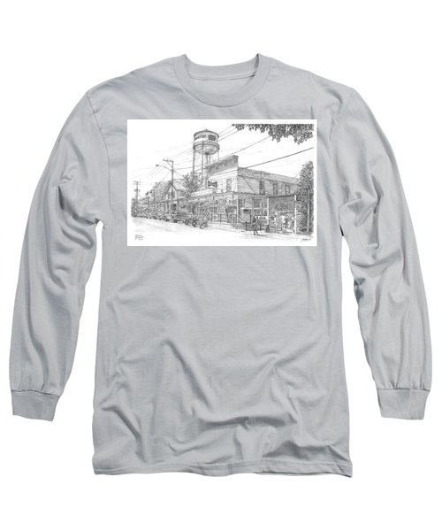 Yesterday Today Long Sleeve T-Shirt by Doug Kreuger