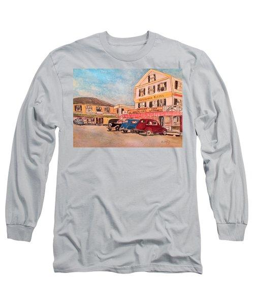 York Beach In Maine Long Sleeve T-Shirt