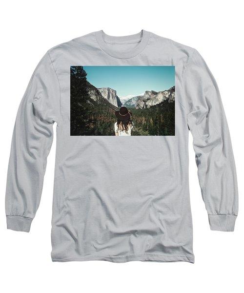Yosemite Awe Long Sleeve T-Shirt