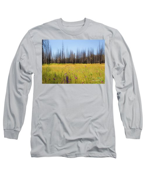 Yosemite Juxtaposition By Michael Tidwell Long Sleeve T-Shirt