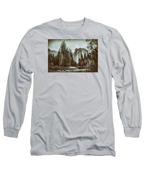 Yosemite National Park Long Sleeve T-Shirt by James Bethanis