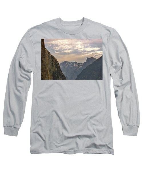 Yosemite Valley - Tunnel View Long Sleeve T-Shirt