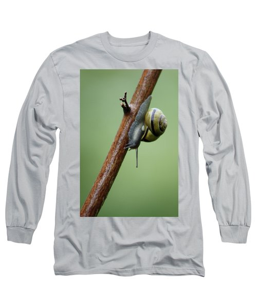 You Move Too Fast Long Sleeve T-Shirt by Cathie Douglas