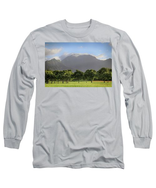 Long Sleeve T-Shirt featuring the photograph You Still Can Touch My Heart by Laurie Search