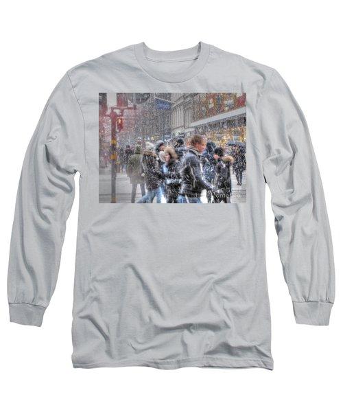 Yury Bashkin Winterstockholm Long Sleeve T-Shirt by Yury Bashkin