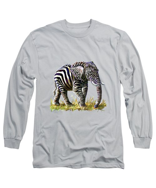 Zebraphant Long Sleeve T-Shirt
