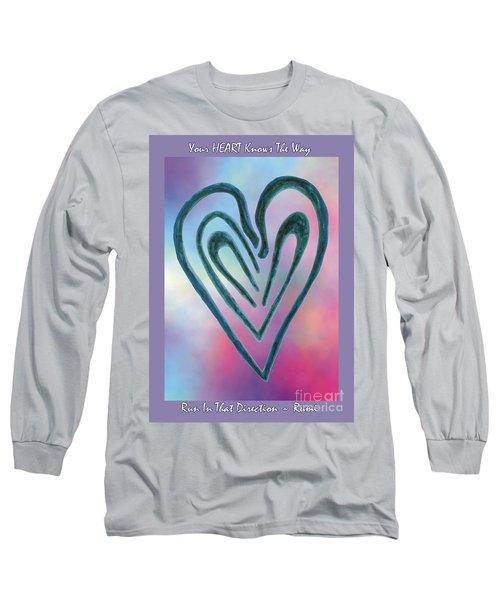 Zen Heart Labyrinth Long Sleeve T-Shirt