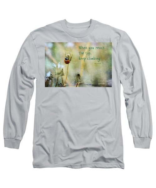 Zen Proverb Long Sleeve T-Shirt