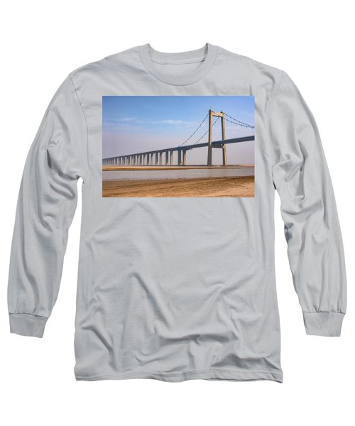 Zhengzhou Taohuayu Huanghe Bridge  Long Sleeve T-Shirt