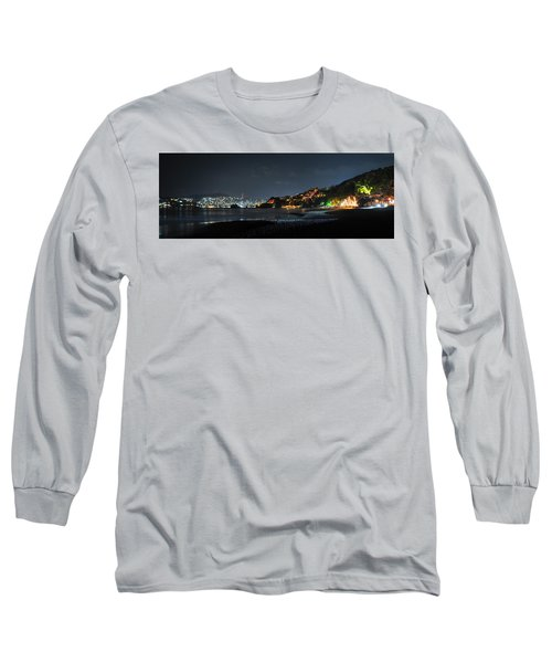 Long Sleeve T-Shirt featuring the photograph Zihuatanejo, Mexico by Jim Walls PhotoArtist
