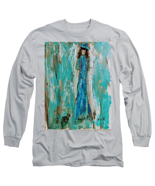 Angel With Her Pet Long Sleeve T-Shirt