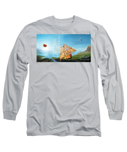 City On The Sea Long Sleeve T-Shirt