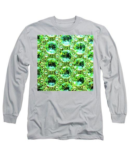Cut Glass Beads 2 Long Sleeve T-Shirt